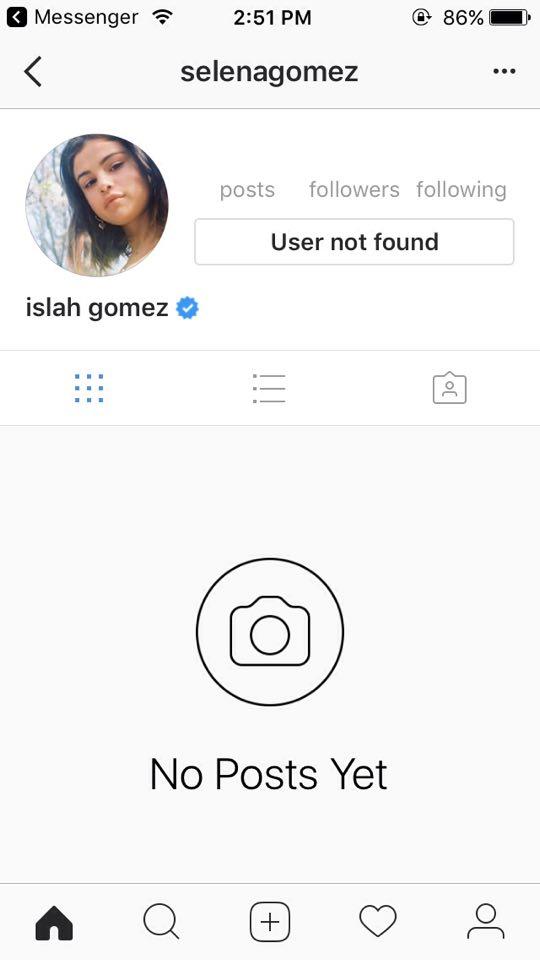 Hackean Instagram de Selena Gomez y publican foto de Justin Bieber desnudo