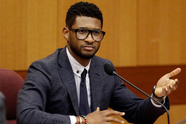 Usher es acusado de transmitirle herpes a tres mujeres y un hombre