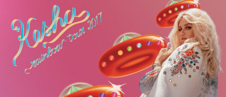 Kesha anuncia el 'Rainbow Tour'
