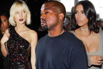 Kim Kardashian y Kanye West se pronuncian sobre el video de Taylor Swift