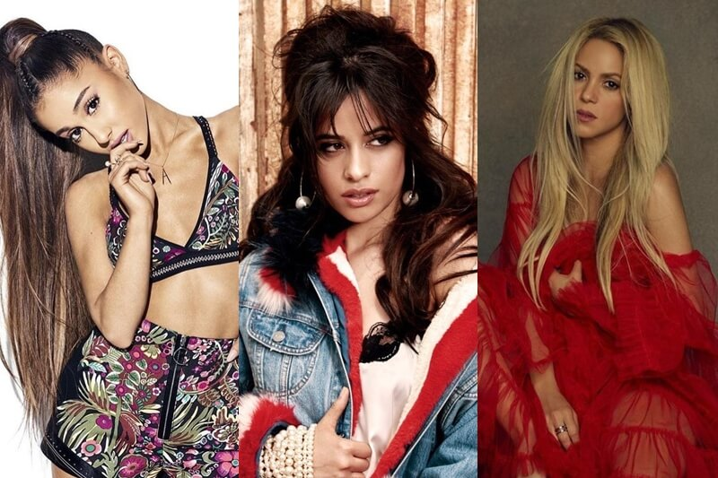 Camila Cabello imita a Ariana Grande y a Shakira