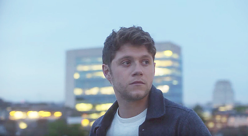 "Niall Horan en su video de ""Too Much to Ask"""