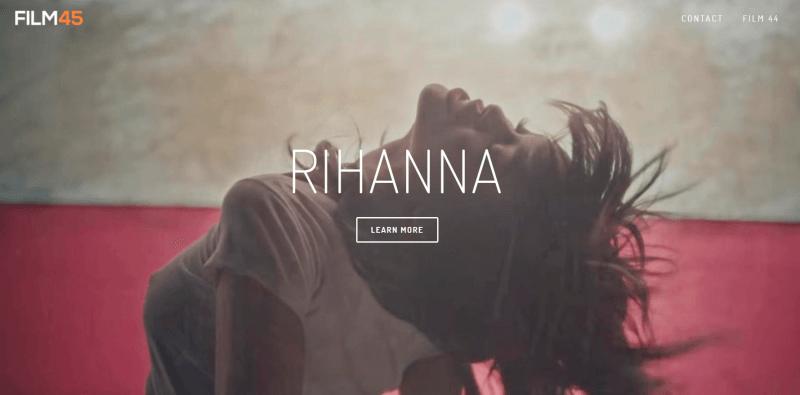 Anuncio del documental de Rihanna