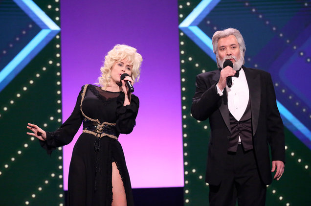 Miley Cyrus y Jimmy Fallon Dolly Parton y Kenny Rogers