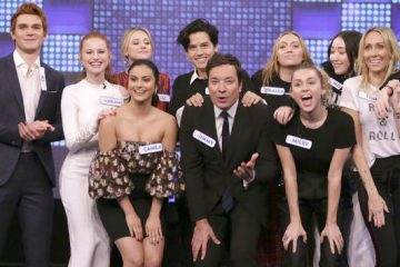 Miley Cyrus y Riverdale con Fallon