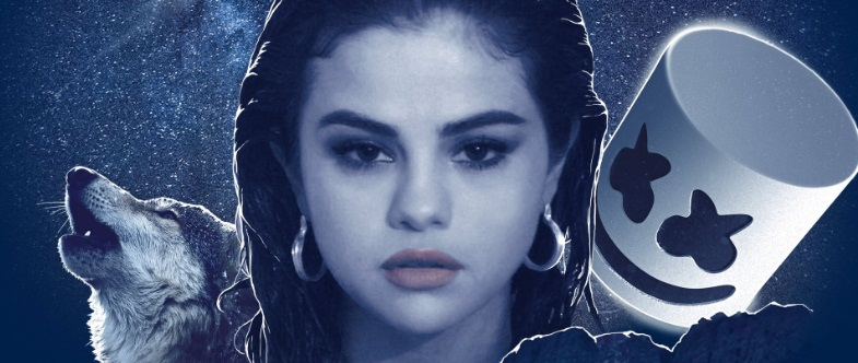 Selena Gomez x Marshmello Wolves official cover