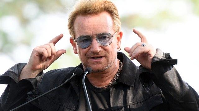 Bono de U2 le pregunta al Presidente Argentino sobre activista desaparecido
