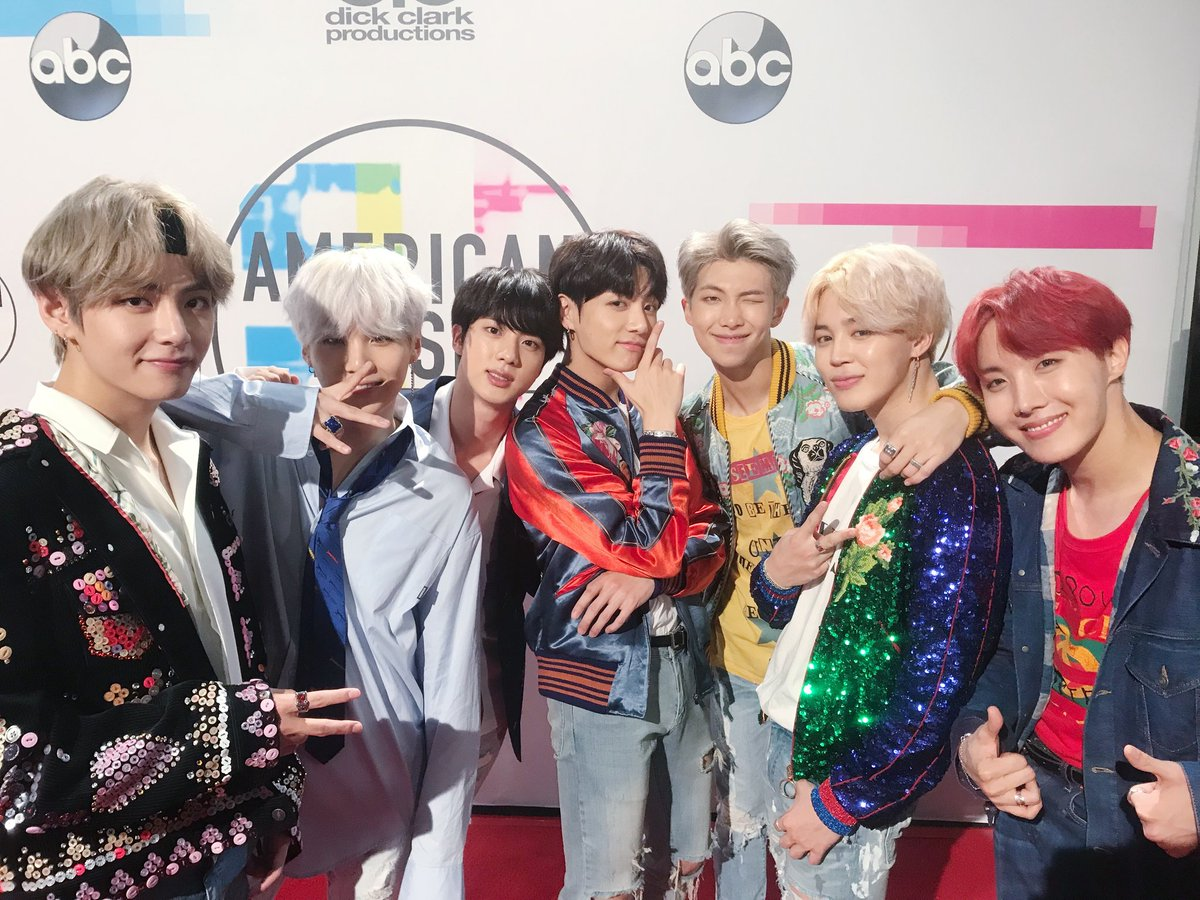 BTS en los AMA's 2017 causa furor