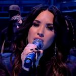 Demi Lovato interpreto algunos de sus éxitos en programa británico