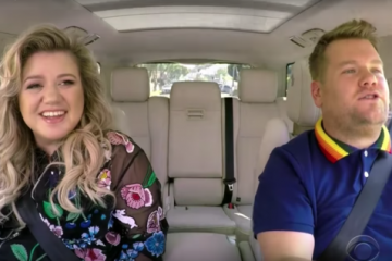 Kelly Clarkson y James Corden en el nuevo episodio de 'Carpool Karaoke'