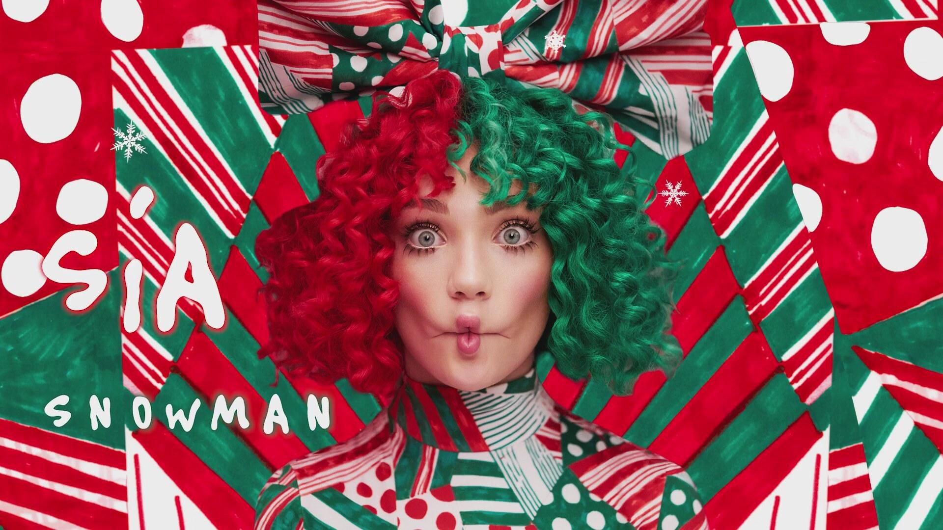 """Escucha la nueva canción navideña de Sia: """"Snowman"""""""