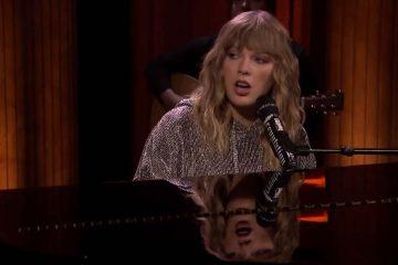 Taylor Swift hace romper en llanto a Jimmy Fallon con su presentación