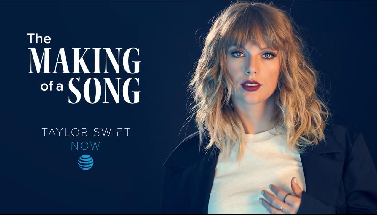 """Taylor Swift revela en vídeo el proceso creativo detrás de """"Gorgeous"""""""