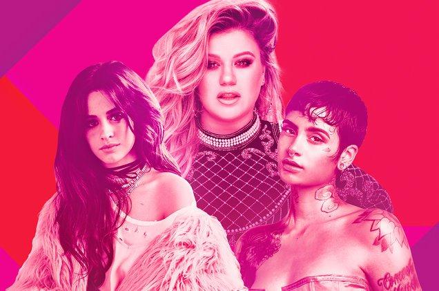 Camila Cabello, Kelly Clarkson y Kelahni reciben reconocimiento de Billboard