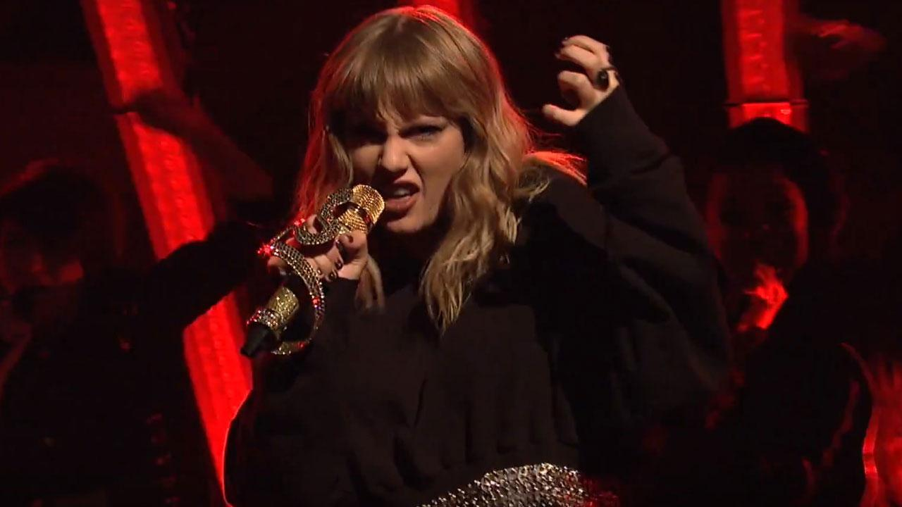 "Taylor Swift interpreto por primera vez ""... Ready For It?"" en 'SNL'"