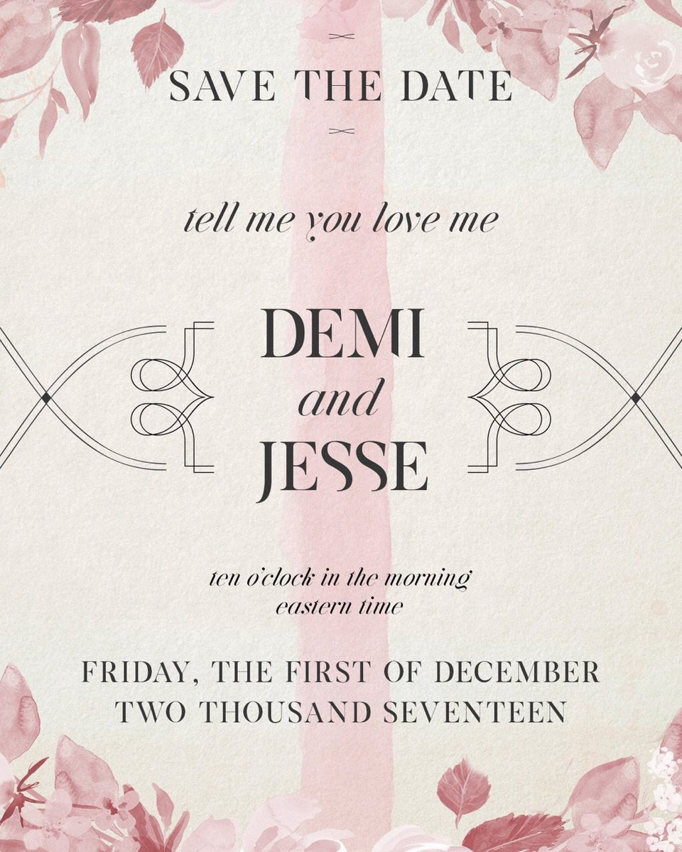 "Demi Lovato ""Tell Me You Love Me"""