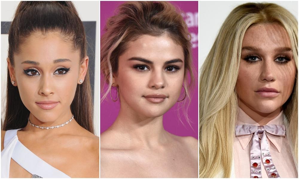 Selena Gomez, Ariana Grande y Kesha reciben reconocimiento de MTV