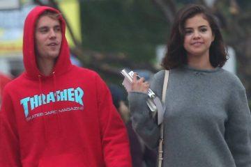 Justin Bieber reacciona al ser cuestionado sobre proponerse a Selena Gomez