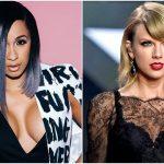Cardi B expresa satisfacción de haber destronado a Taylor Swift en el Hot 100