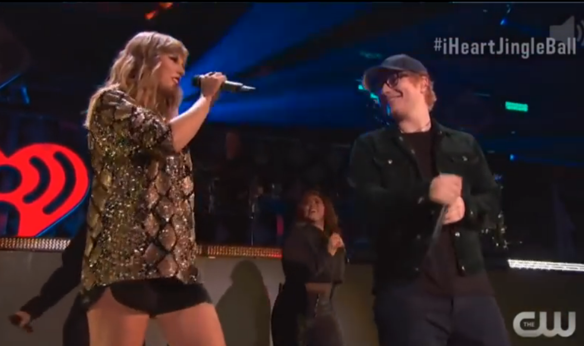 "Taylor Swift y Ed Sheeran interpretan en vivo por primera vez ""End Game"""