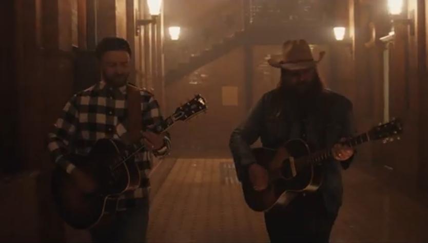 "Justin Timberlake revela el vídeo de ""Say Something"" junto a Chris Stapleton"