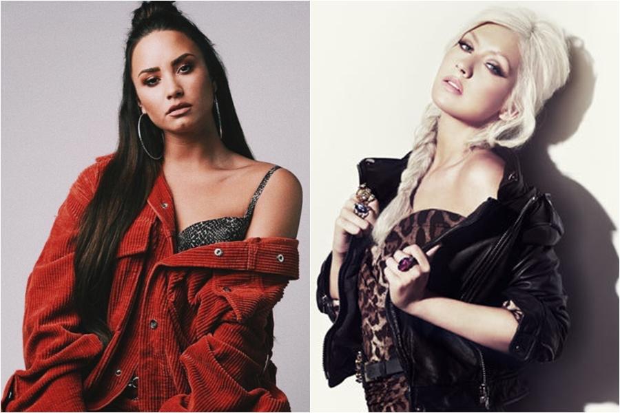 Nueva evidencia apunta a una colaboración entre Demi Lovato y Christina Aguilera