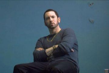 "Eminem reveló un adelanto del vídeo oficial de ""River"" junto a Ed Sheeran"