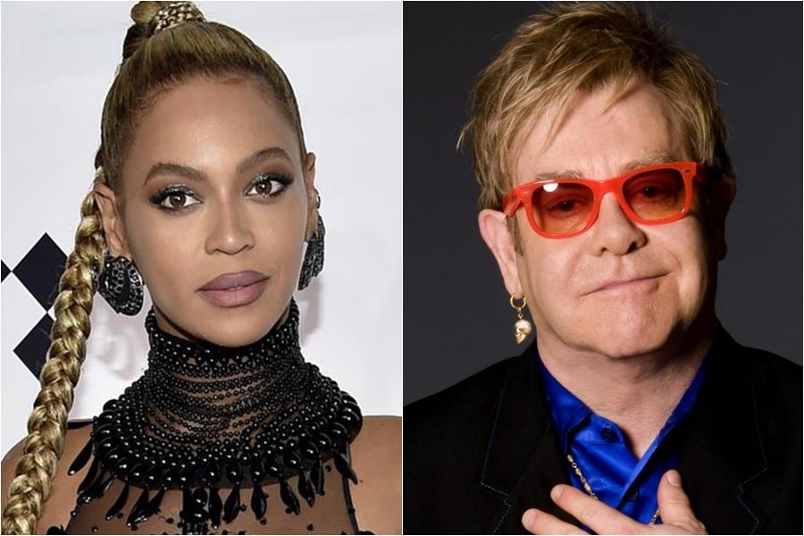 Beyoncé y Elton John están trabajando en un proyecto en conjunto