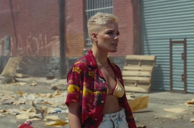 "Halsey reveló el vídeo oficial de ""Sorry"""
