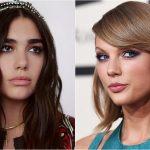 Dua Lipa cuenta como fue atacada por fans de Taylor Swift