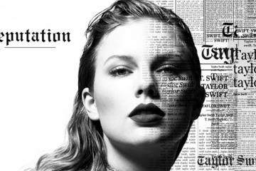 'Reputation' de Taylor Swift alcanzó los 2 millones de ventas puras en EE.UU.