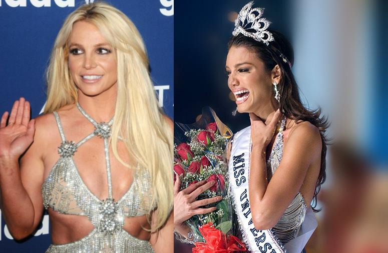 Miss Universo 2006 dice que le prestó su vestido a Britney Spears para los GLAAD Media Awards