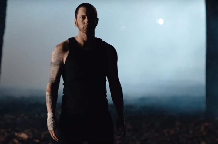 """Eminem lanzó el vídeo musical de """"Framed"""""""