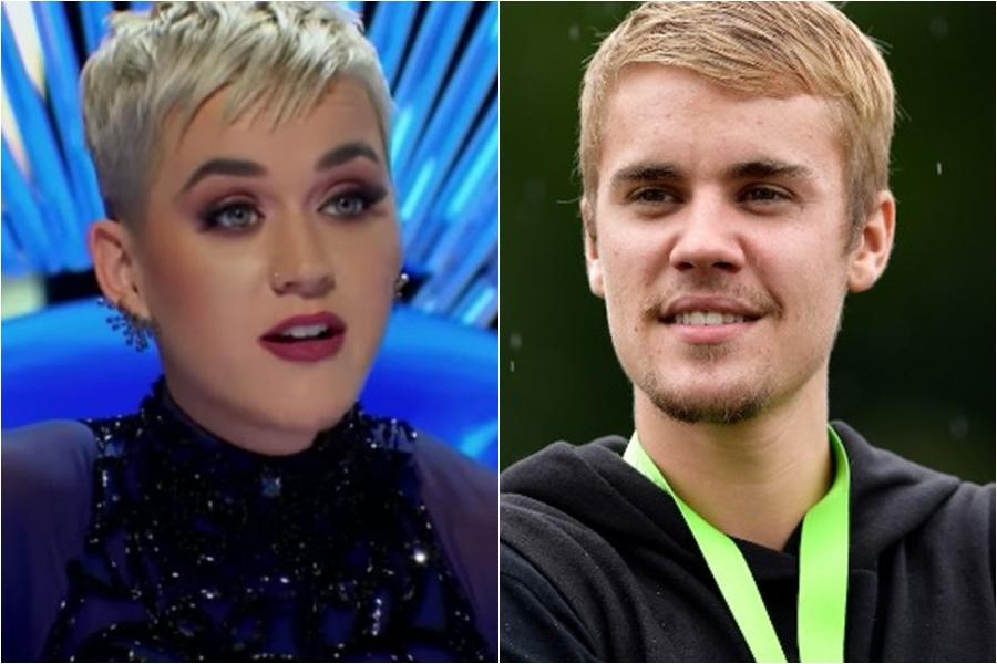 Katy Perry defendió a Justin Bieber ante las críticas de otro de los jueces de Imerican Idol