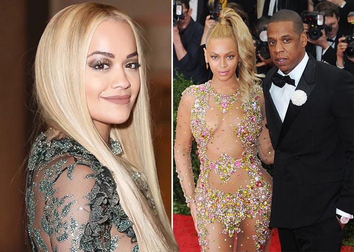 Rita Ora habla de los rumores de que Jay-Z engaño a Beyoncé con ella
