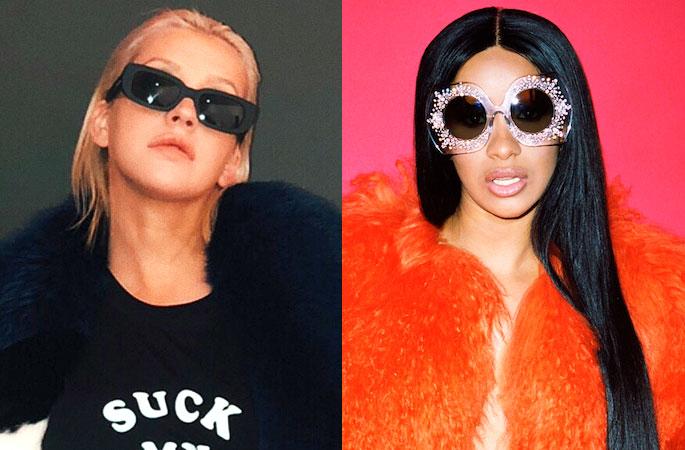 Christina Aguilera habla sobre la oportunidad que tuvo de colaborar con Cardi B