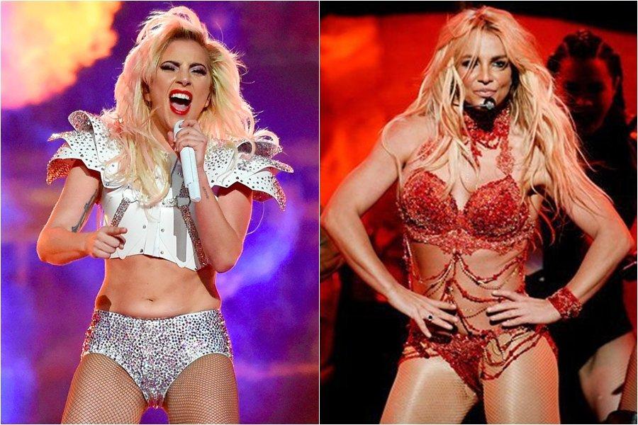 Lady Gaga se presentó con icónica canción de Britney Spears