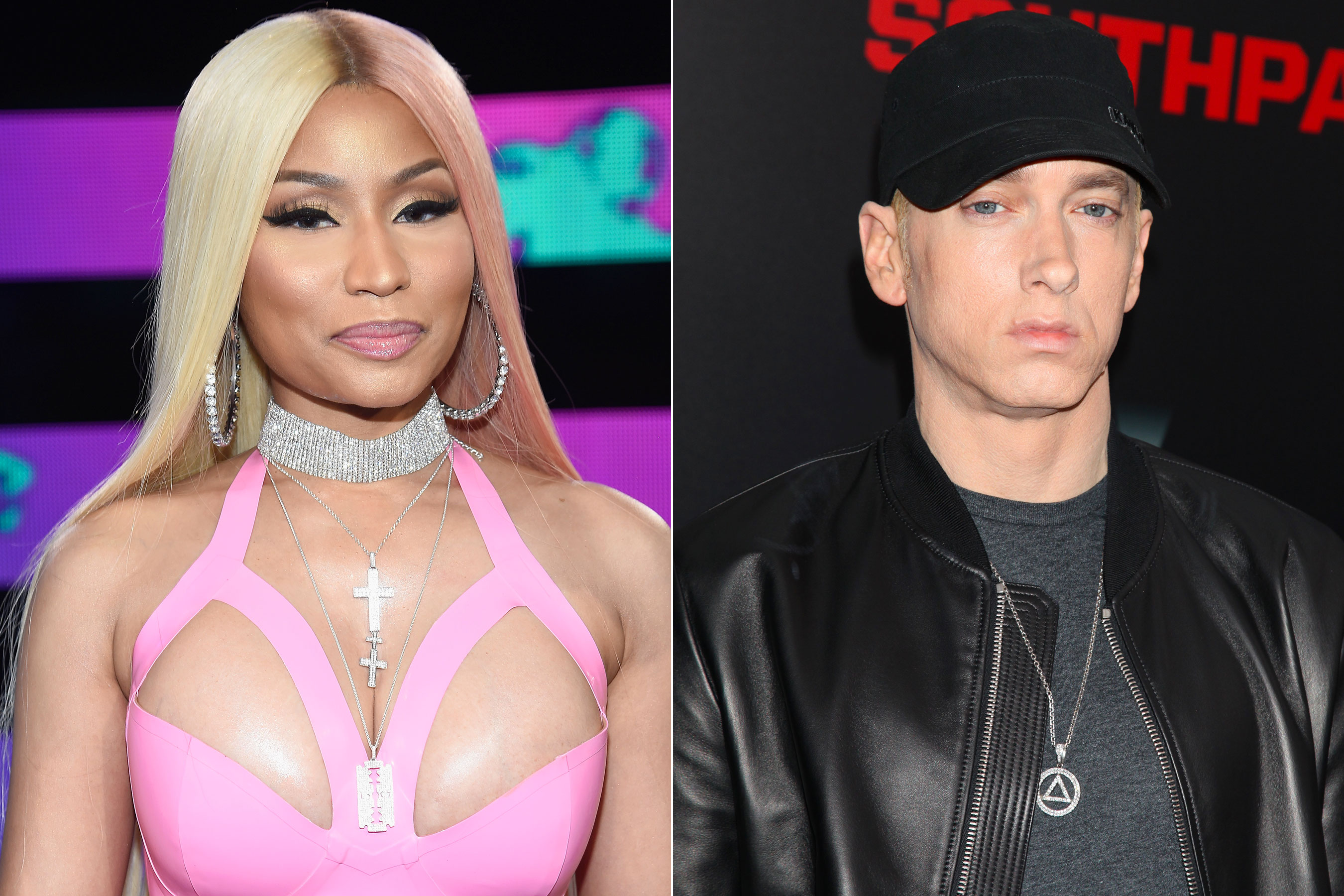 Nicki Minaj confirmó que está saliendo con Eminem