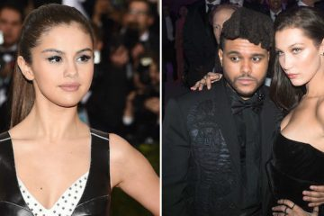 Esta fue la reacción de Selena Gomez al ver a The Weeknd y Bella Hadid besándose