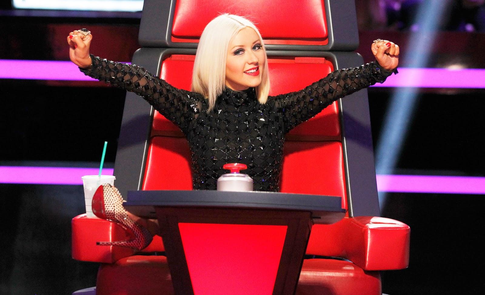 "Christina Aguilera arremete contra The Voice: ""no es sobre la música"""