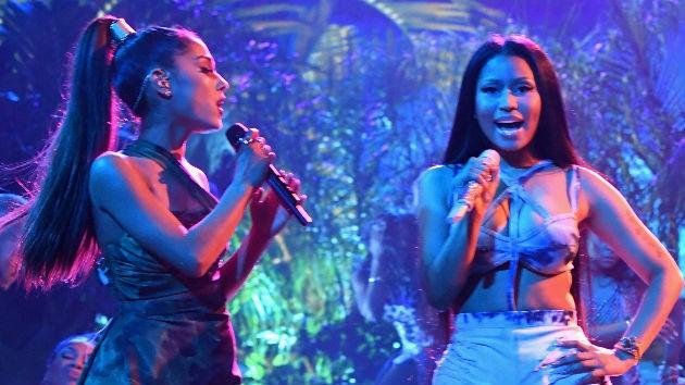 """Nicki Minaj reveló adelanto del vídeo de """"Bed"""", su colaboración con Ariana Grande"""