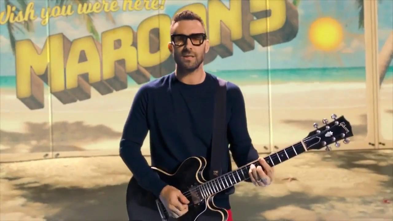Maroon 5 hace cover y lanza vídeo de gran éxito de Bob Marley