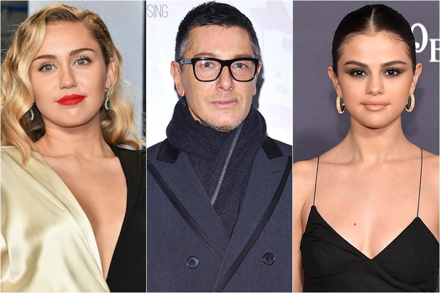 Stefano Gabbana insulta a Miley Cyrus luego de que ella saliera en defensa de Selena Gomez