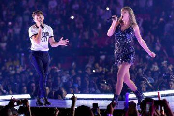 Taylor Swift y Niall Horan cantan juntos en concierto del 'Reputation Tour'