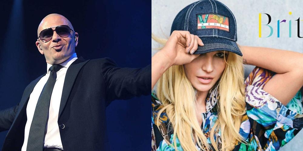Pitbull confirmó una nueva canción con Britney Spears