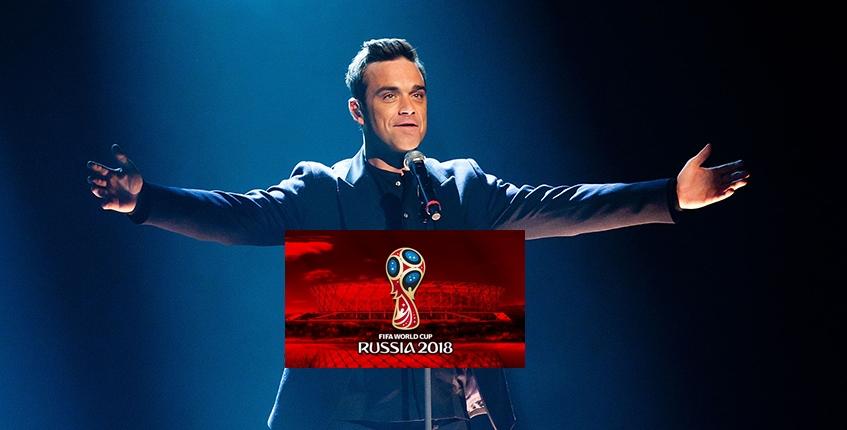 Robbie Williams cantará en la inauguración del Mundial de la FIFA Rusia 2018