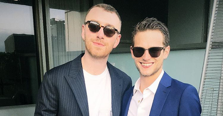 Sam Smith se refirió a su ruptura con Brandon Flynn en concierto