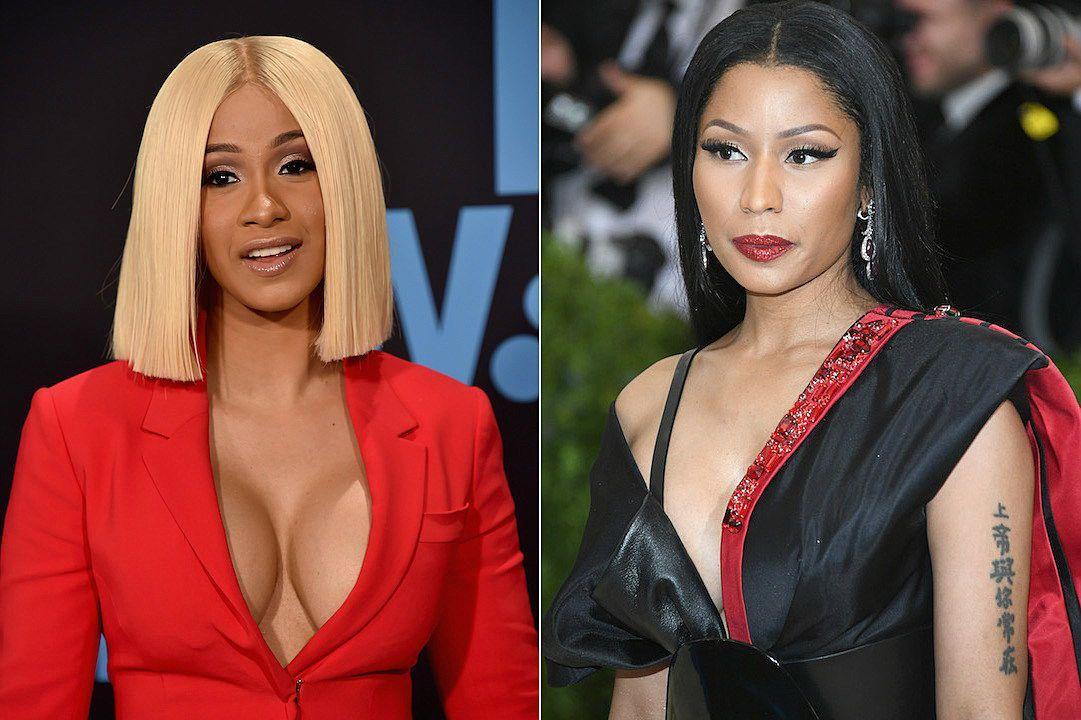Cardi B igualó récord de Nicki Minaj en Billboard