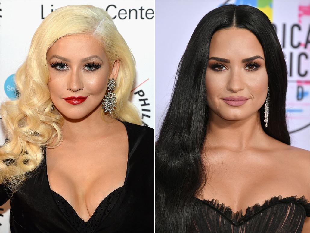 Demi Lovato y Christina Aguilera tienen una nueva colaboración
