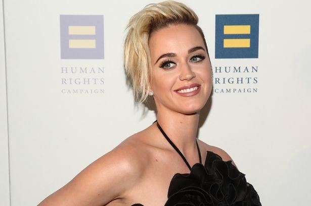 Katy Perry está pensando en actuar en una película